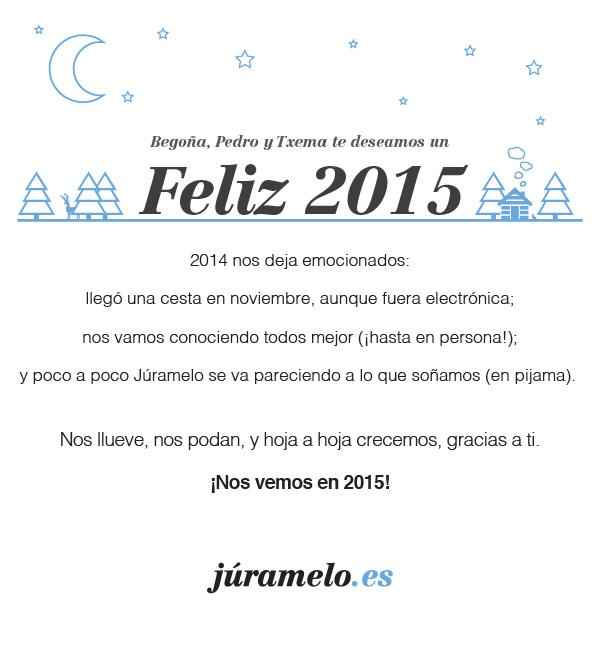 Feliz 2015 de Júramelo, traducción jurada sin complicaciones