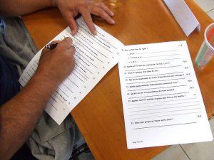 Los exámenes. Imagen de Dennis en Flickr
