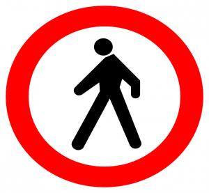 Prohibido pasar. Imagen de Pixabay.