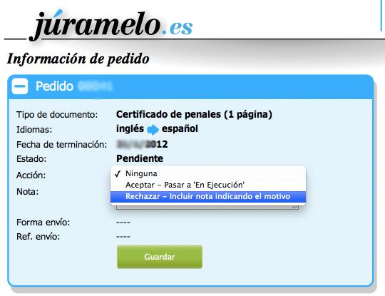Tutorial de Júramelo.es